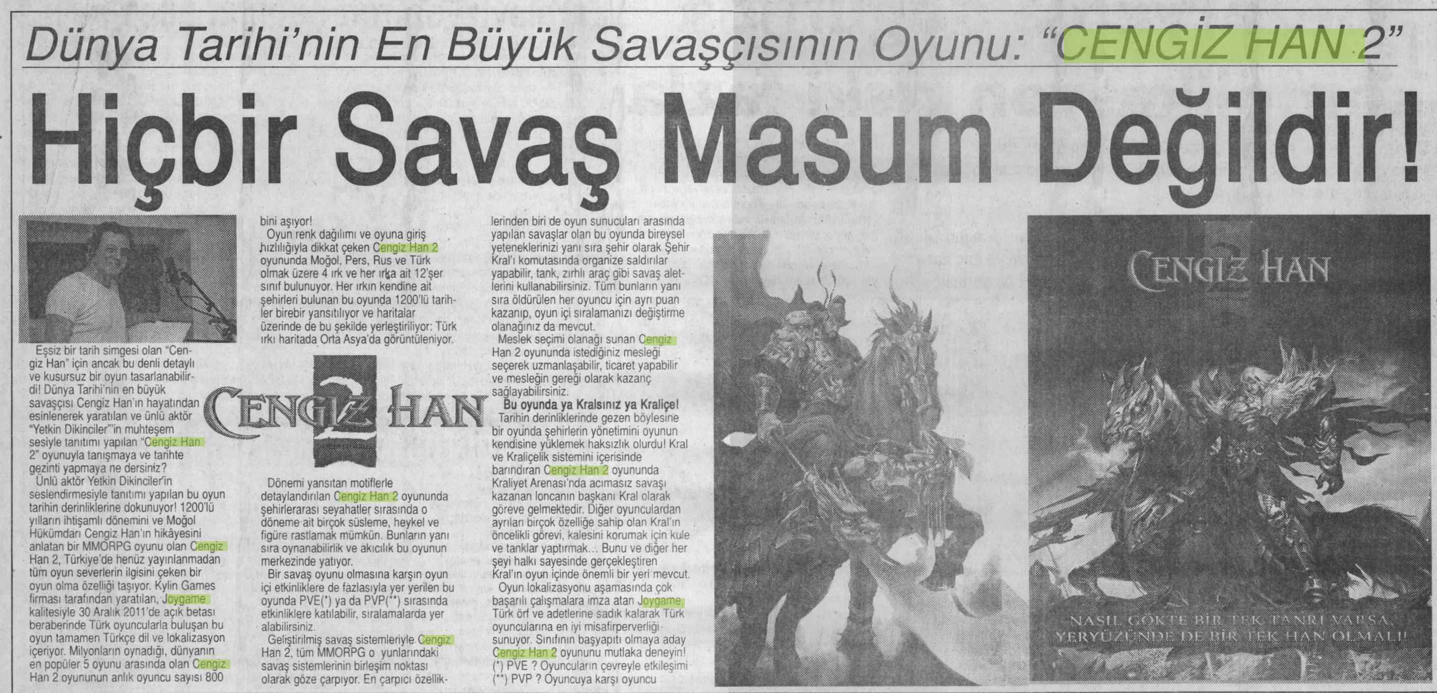 Netmarble-Turkey-Basin-Yansimasi-Son-Saat-Gazetesi-25-Aralik-2011-2