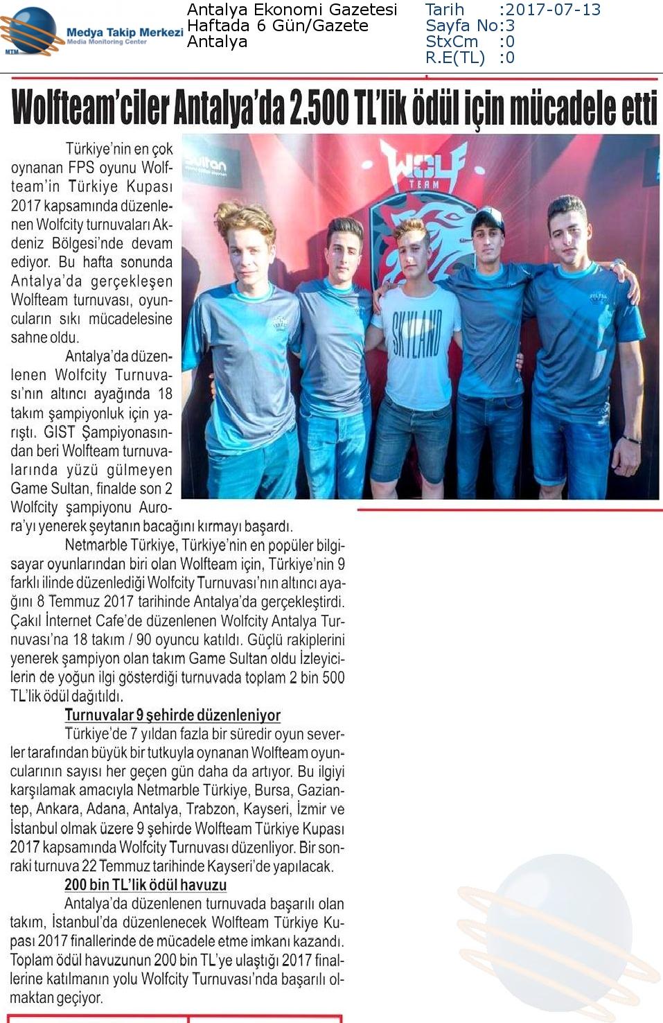 Antalya_Ekonomi_Gazetesi-WOLFTEAMCİLER_ANTALYADA_2500_TLLİK_ÖDÜL_İÇİN_MÜCADELE_ETTİ-13.07.2017