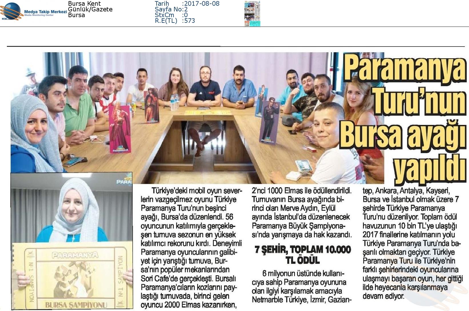 Bursa_Kent-PARAMANYA_TURUNUN_BURSA_AYAĞI_YAPILDI-08.08.2017