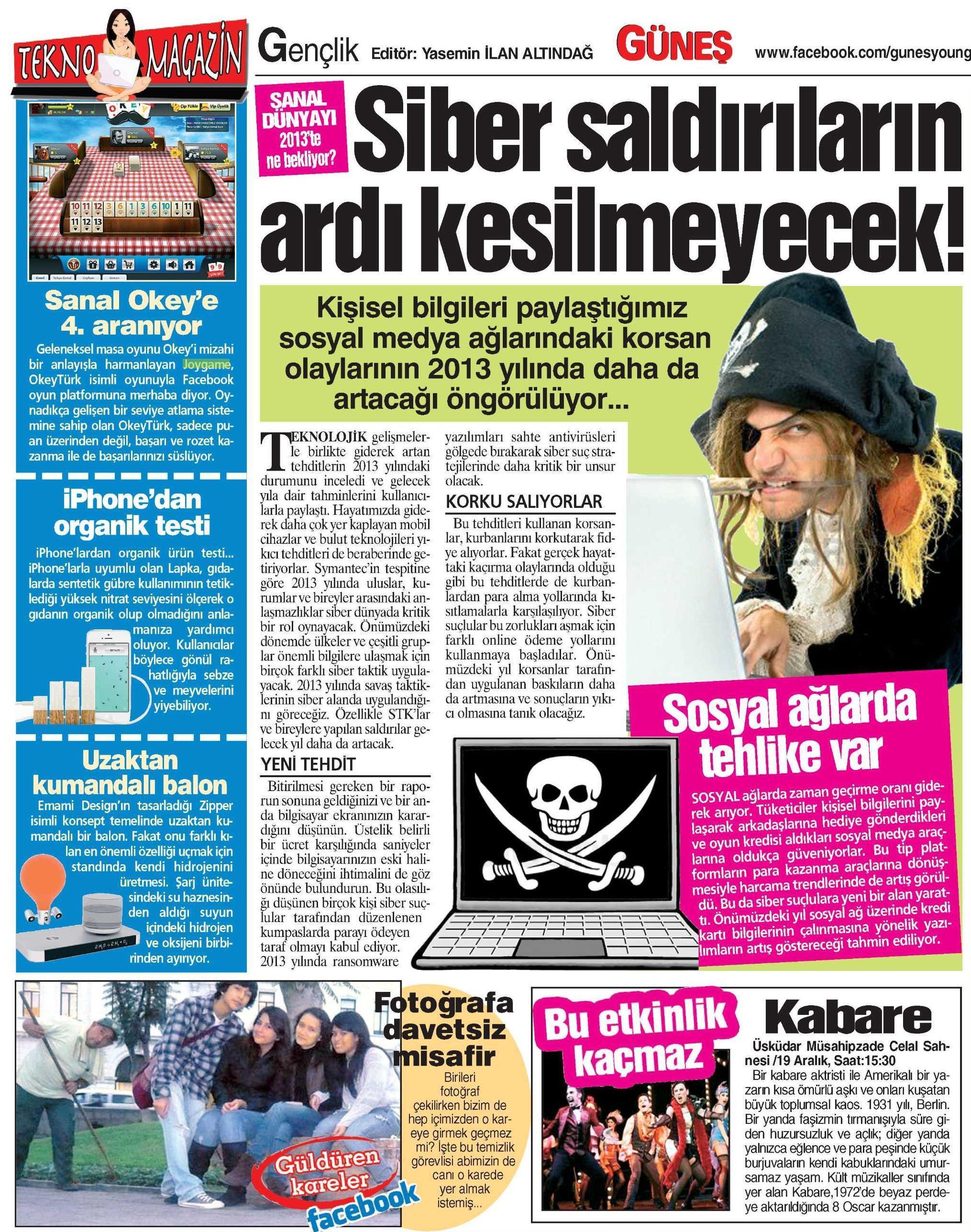 Netmarble-Turkey-Gunes-Gazetesi-15-Aralik-2012-Sayfa-9