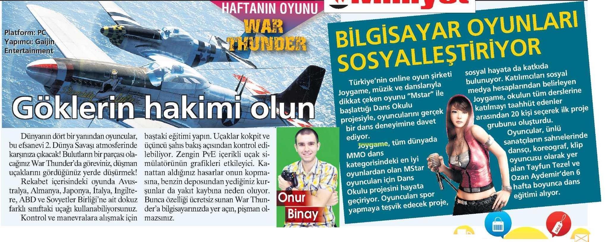 Netmarble-Turkey-Milliyet-Sayfa-16-14-Aralik-2013