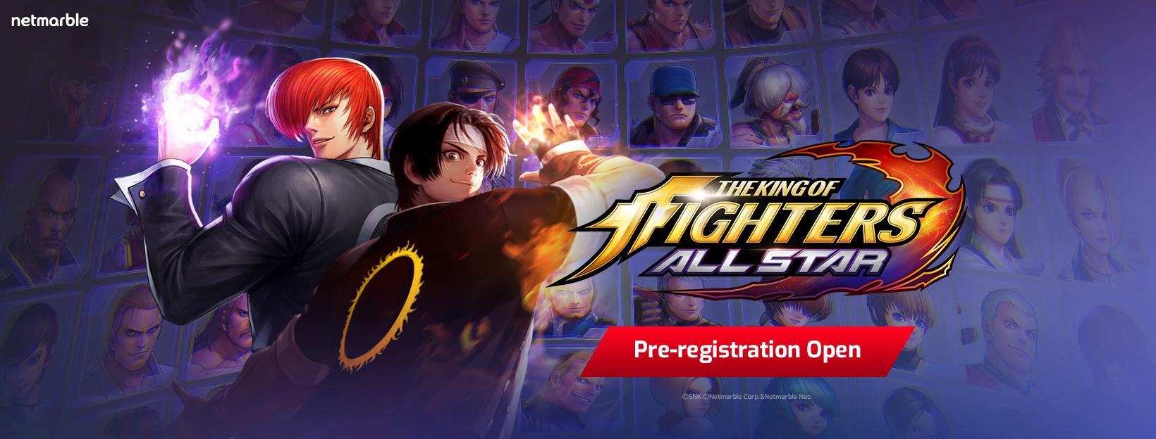 Netmarble'ın Yeni Oyunu King of Fighters Allstar için Ön Kayıtlar Başladı