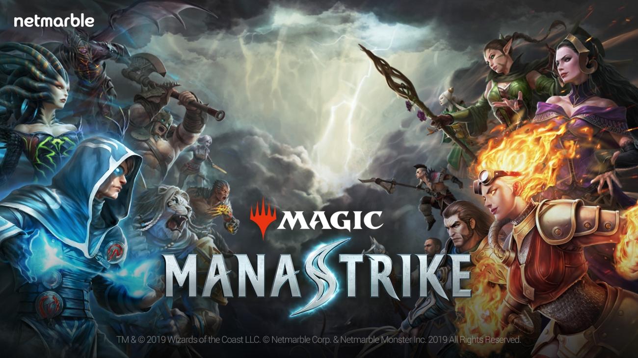 Netmarble Magic ManaStrike Main Image