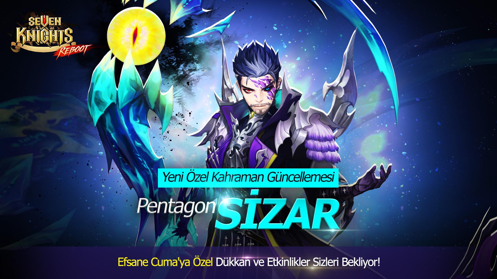 Seven Knights'a yeni özel kahraman 'Sizar' geliyor.