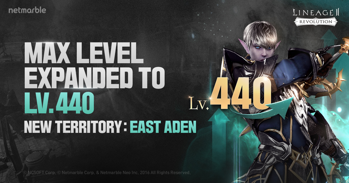 RE-ENTER THE HIGH-LEVEL ADEN TERRITORY IN ALL-NEW LINEAGE 2: REVOLUTION UPDATE