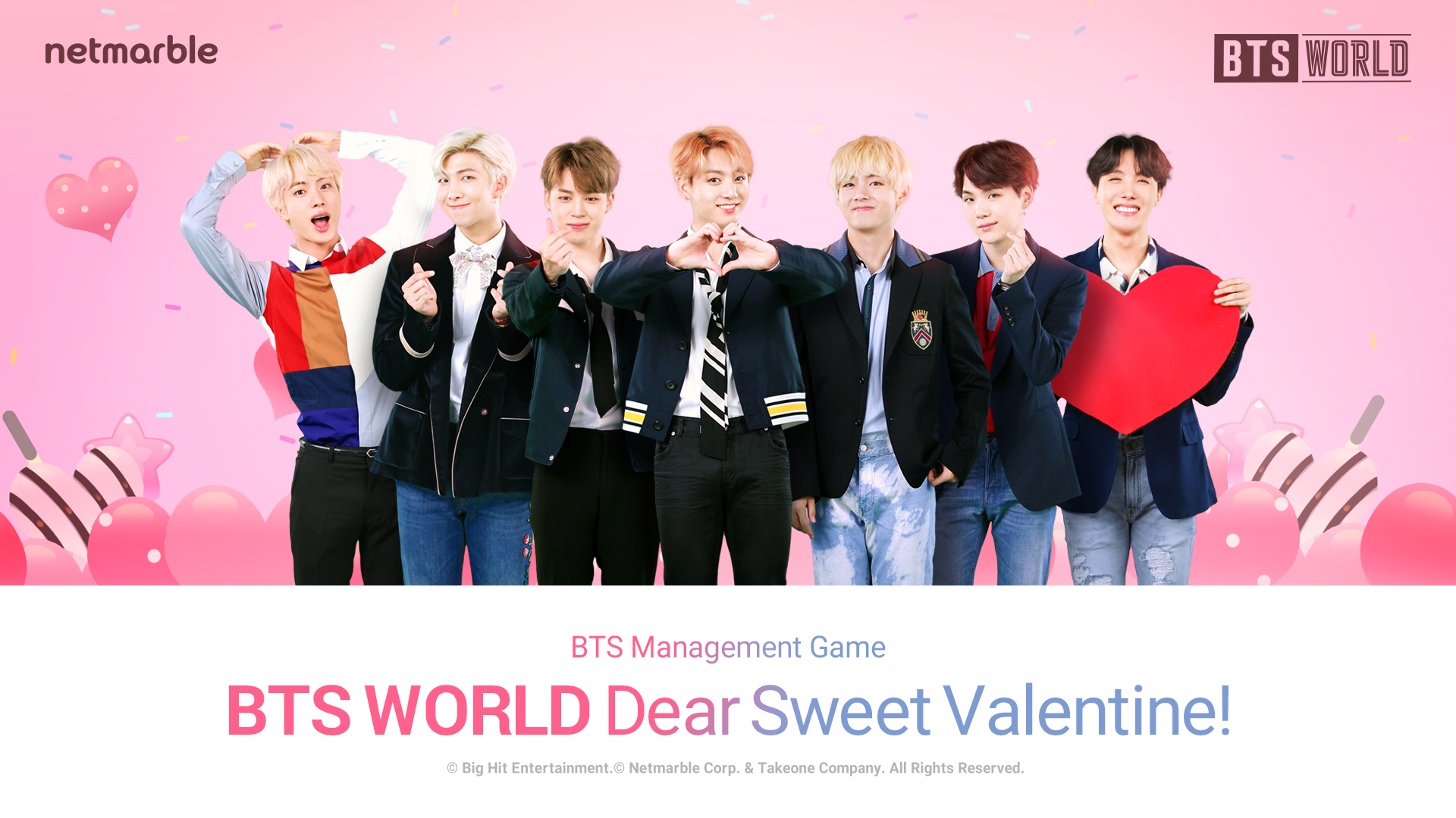 LOVE IS IN THE AIR WITH THE BTS WORLD  VALENTINE'S DAY UPDATE