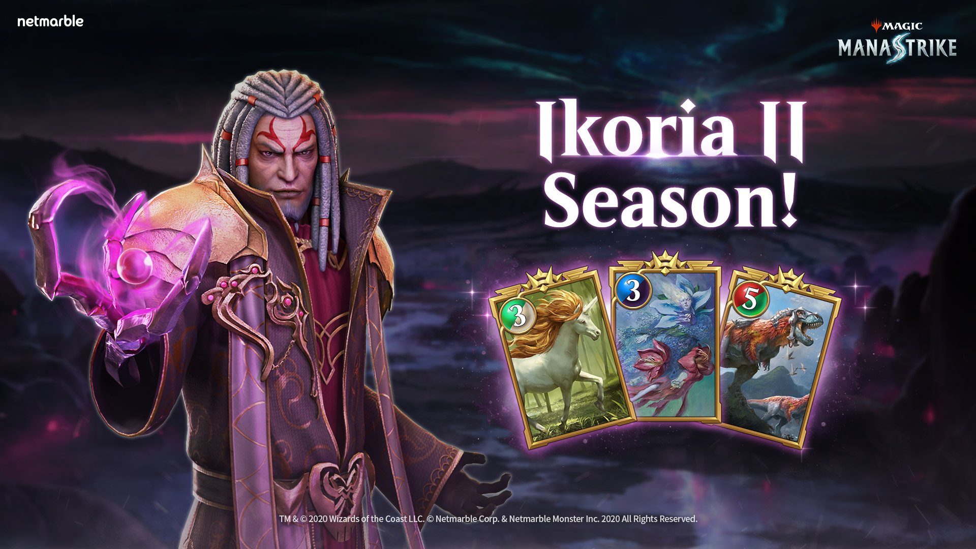 MAGIC: MANASTRIKE UNVEILS IKORIA II SEASON IN BRAND-NEW UPDATE
