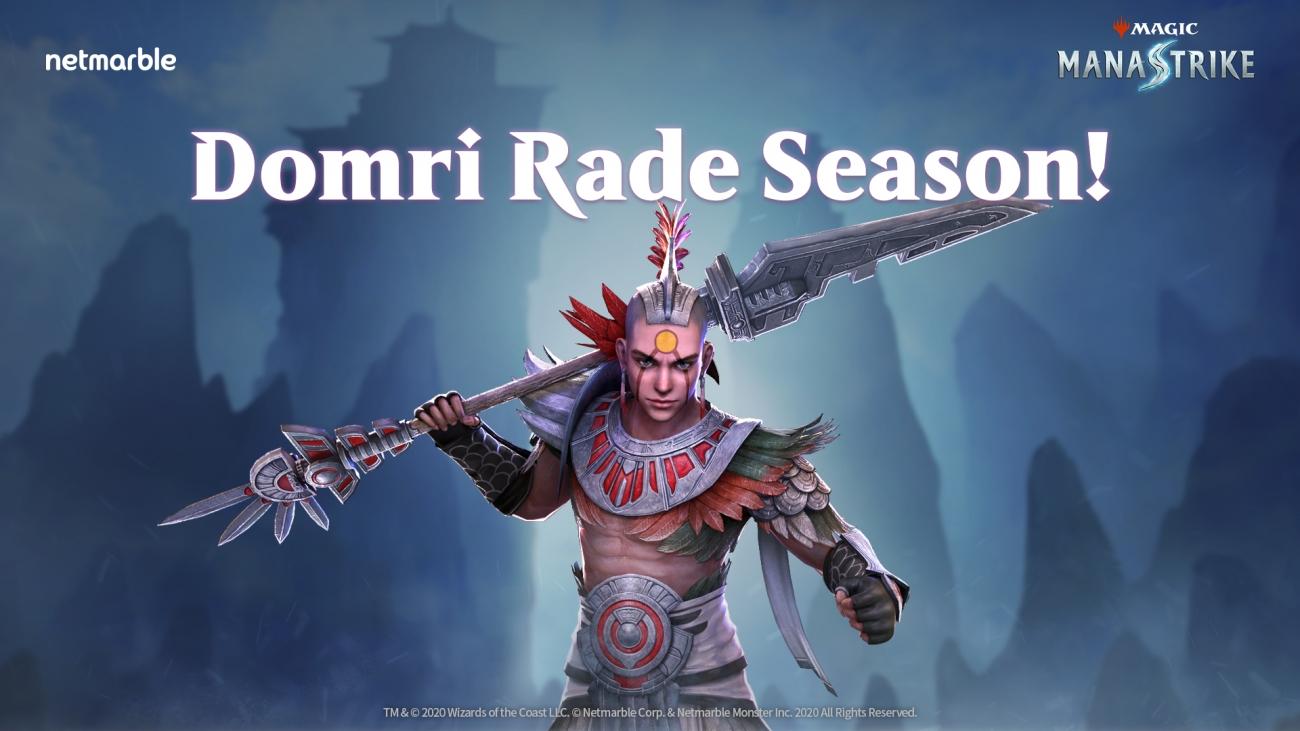 Magic ManaStrike Domri Rade Season Update