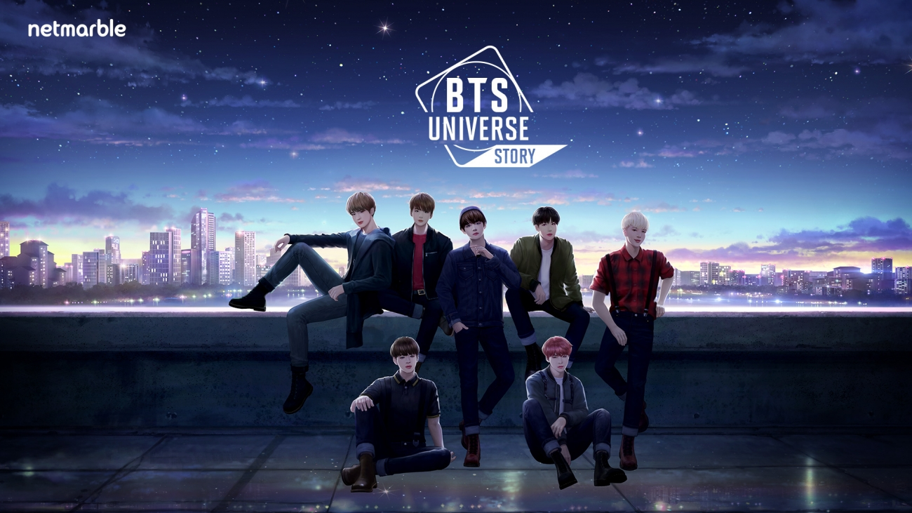 BTS Universe Story Pre-Registration Image
