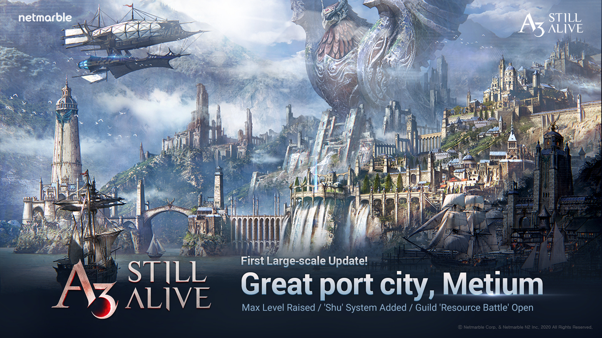 FIRST UPDATE TO A3: STILL ALIVE BRINGS NEW TERRITORY METIUM TO THE GAME'S DARK FANTASY WORLD