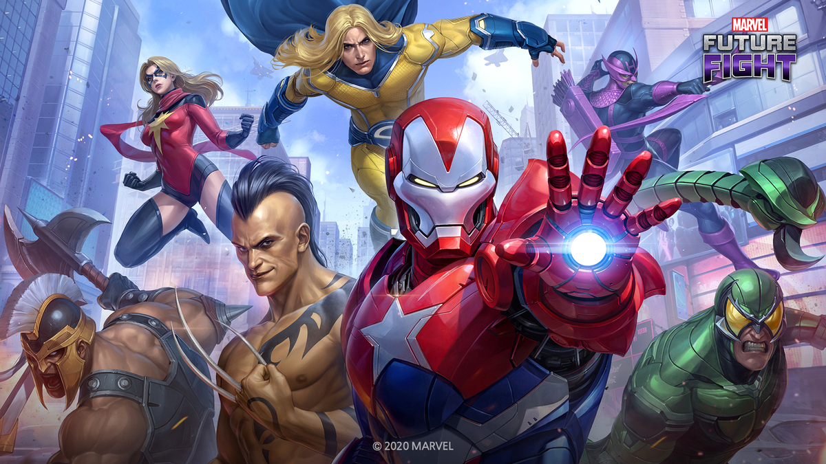 THE 'DARK AVENGERS' ASSEMBLE IN THE NEW UPDATE FOR MARVEL FUTURE FIGHT!