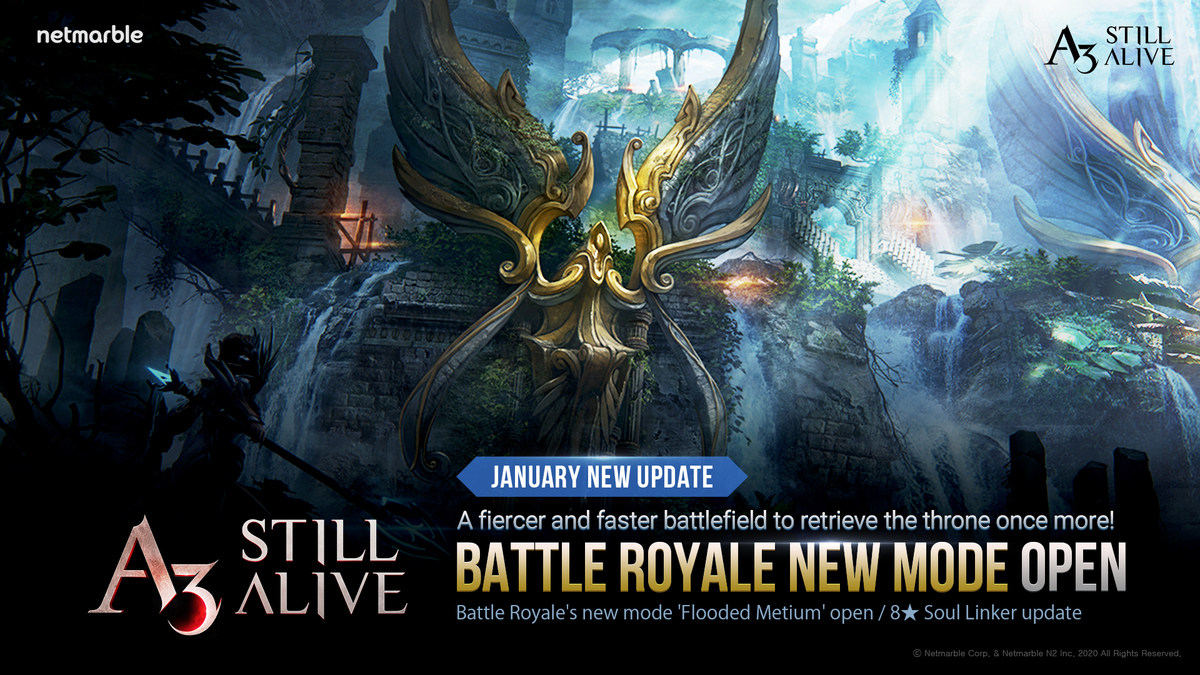 A3: STILL ALIVE OPENS THE FLOODGATES WITH ALL-NEW FLOODED METIUM BATTLE ROYALE MODE WITH LATEST IN-GAME UPDATE