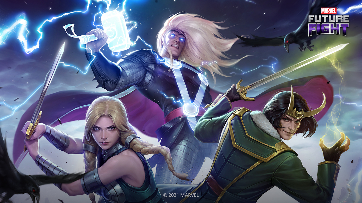 THOR, THE HERALD OF THUNDER, ARRIVES IN NETMARBLE'S EPIC ACTION-RPG MARVEL FUTURE FIGHT IN ASGARDIAN-SIZED UDPATE